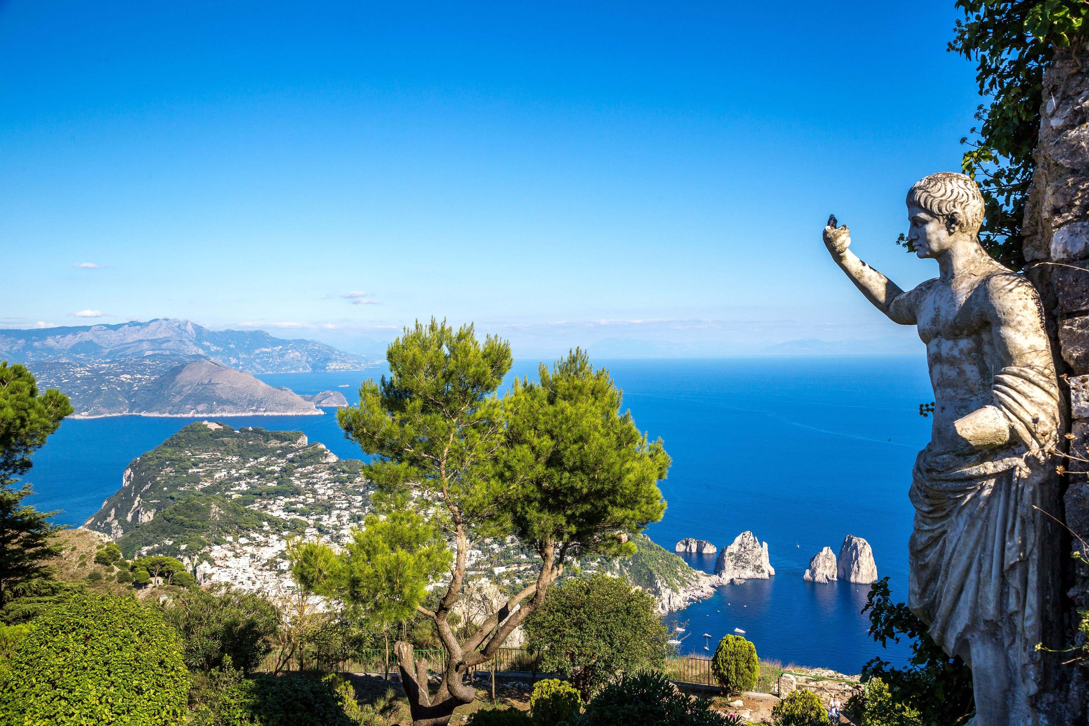 Golf von Neapel: Kulturschätze an der Traumküste mit Flair