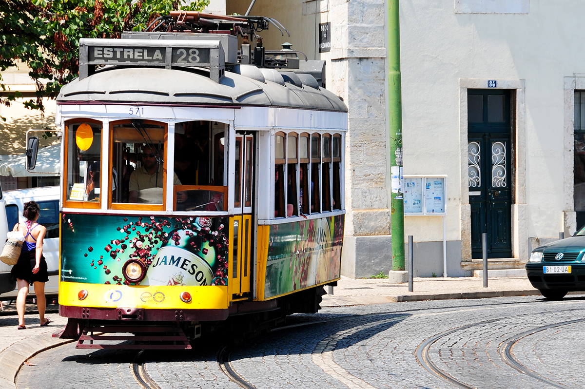 Lissabon  -  Weiße Stadt am Tejo