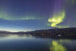 MS PLANCIUS: Ostgrönland und Polarlichter