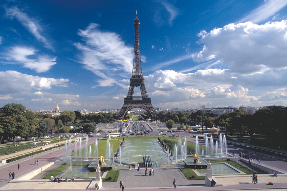 Paris  -  Hauptstadt der Grande Nation