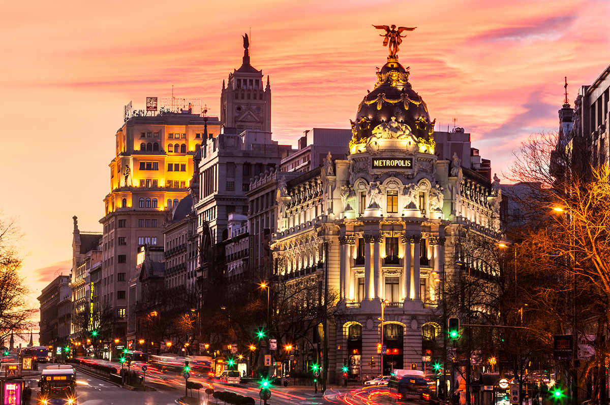 Madrid Nach Valencia