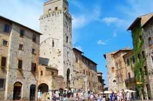 Wanderungen in der malerischen Toskana